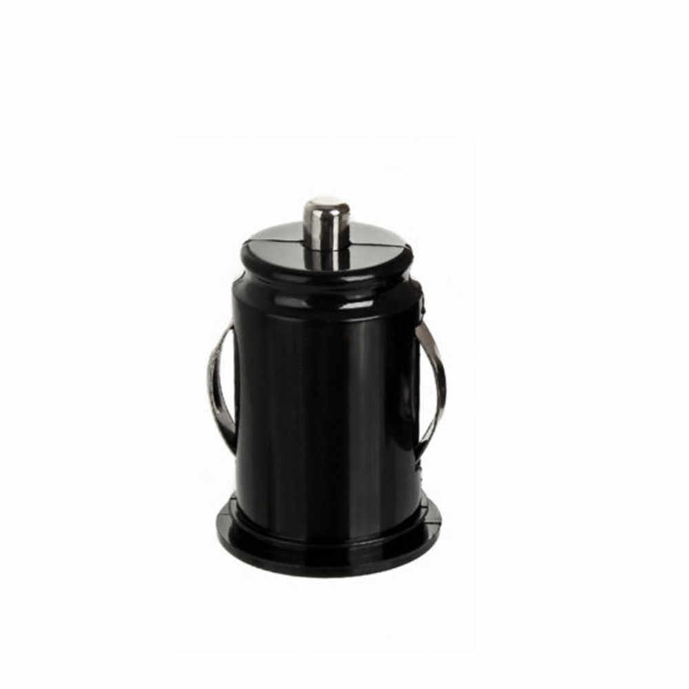 Mini dual USB car charger 5V/2A car phone charger multifunction 2USB car charger power adapter fast charging black 19Mar5