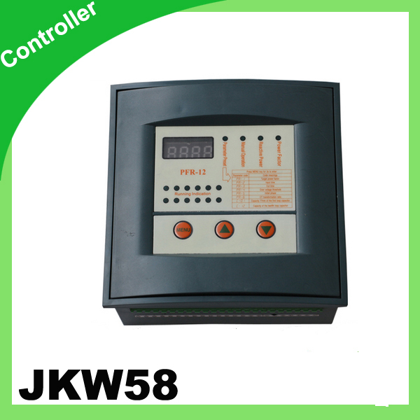 ФОТО JKW58 PFR Reactive power compensator controller for power factor capacitor 12step 380v PRCF