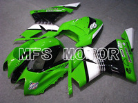 Для Kawasaki NINJA ZX10R 2004 2005 04 05 Инжекционный обтекатель антиблокировочной системы Наборы ниндзя ZX 10R 04 05 цвета: зеленый, черный Аксессуары для мото