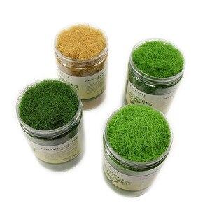 1 X 300ML 35g Turf Flock Lawn Nylon Static Grass Powder 12MM Electrostatic Grass CFA4 Miniature Scenery Architectural Layout