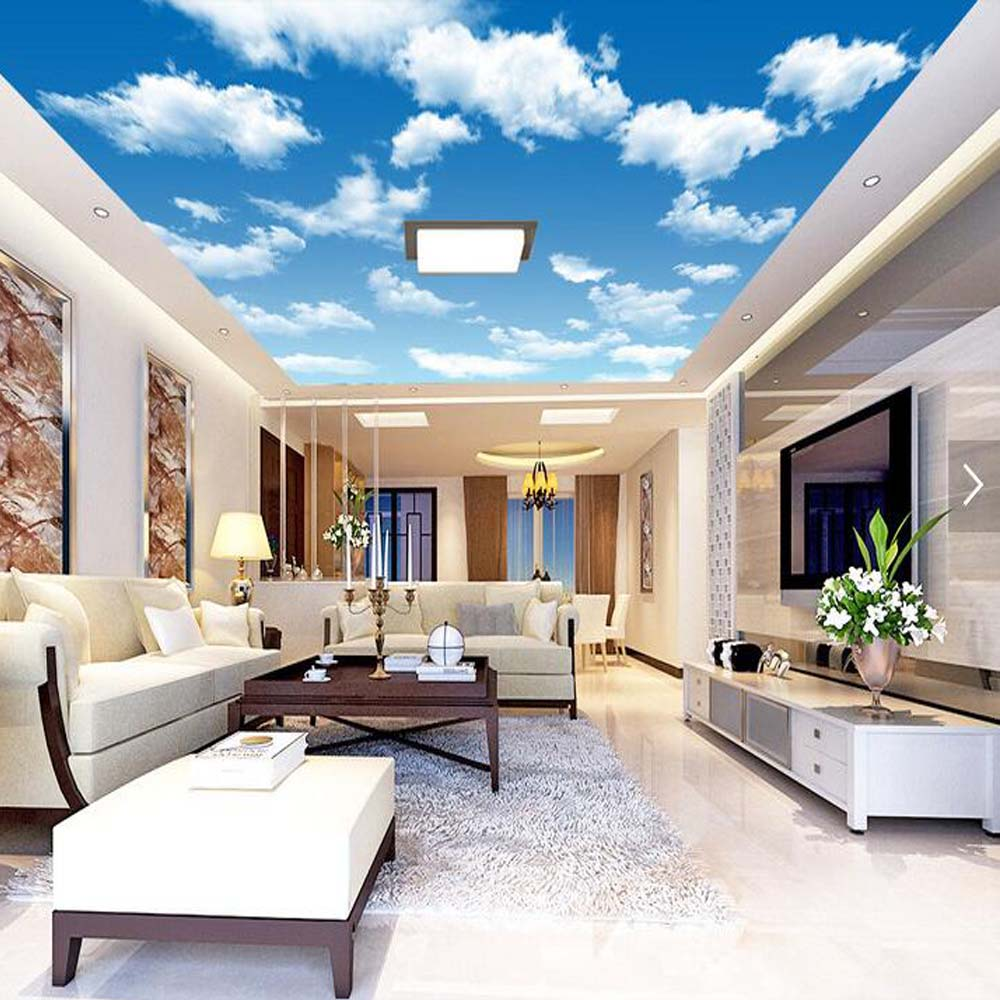 Kids Bedroom Wallpapers Compare Prices On Ceiling Wallpaper Clouds Kids Room Online