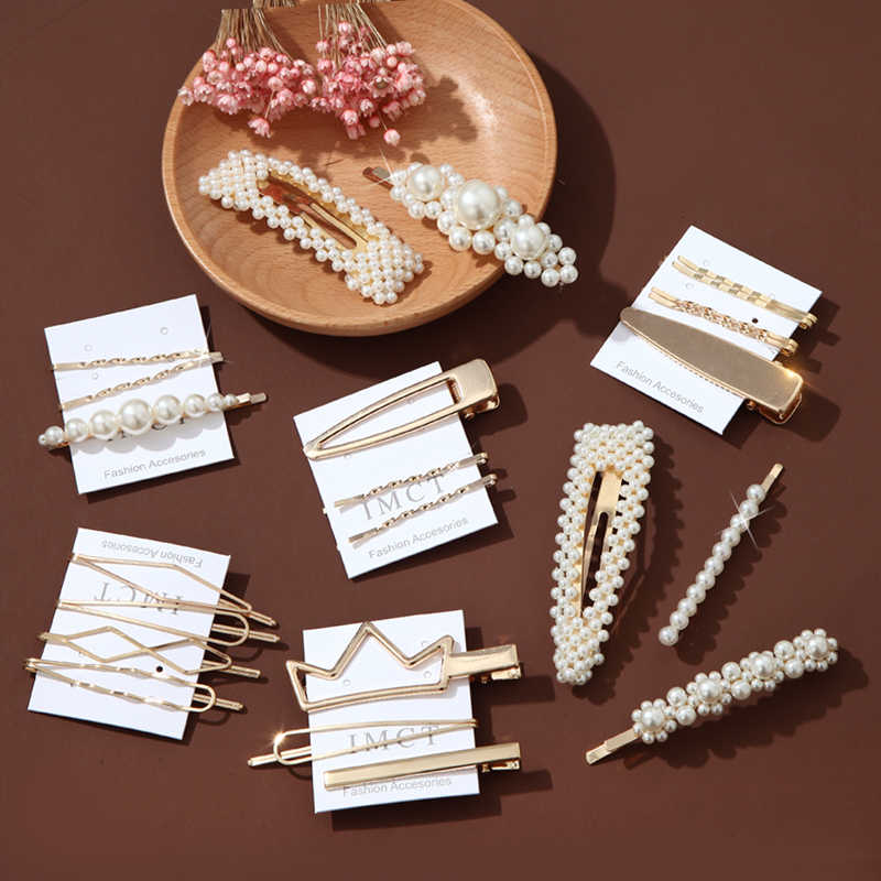 3Pcs / Set Metal Hair Pin Crown Hairpin Bridal Accessories Korean Style Headdress Wedding Hairband Comb Bobby Barrette Styling