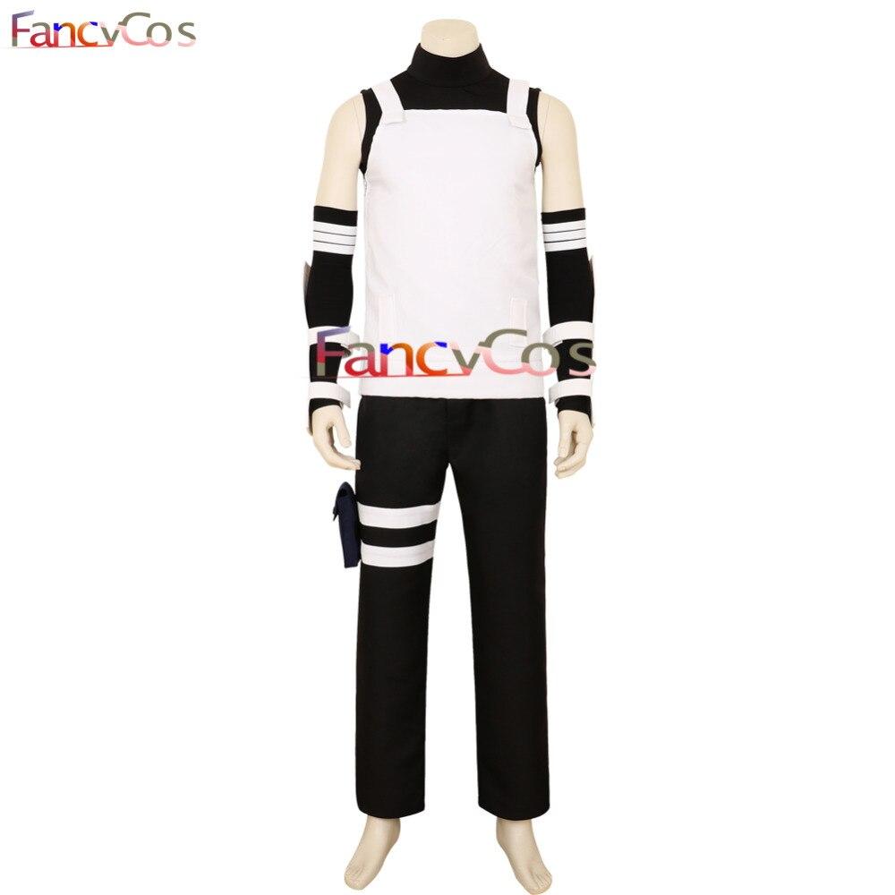 Halloween Hatake Kakashi Costume Mask AnBu Cosplay Costume Game NARUTO Costume Adult Costume Movie High Quality Deluxe