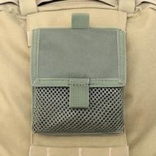 2 шт./компл. открытый 1000D нейлоновая сумка тактического назначения, на застежке-липучке Многофункциональный Molle Военная поясная Сумка EDC инструменты комбинированная сумка