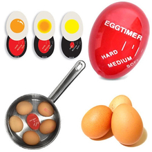 1Pc Egg Timer Perfect Color Changing Yummy Soft Hard Boiled Eggs Cooking Kitchen Eco-Friendly Resin Tools