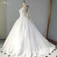 RSW1437 свадебные платья в африканском стиле с длинными рукавами Robe De Princesse