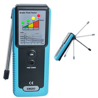 Car Auto Truck Automotive Brake Fluid Tester Oil Detector With Built In Buzzer LED Indicator 180