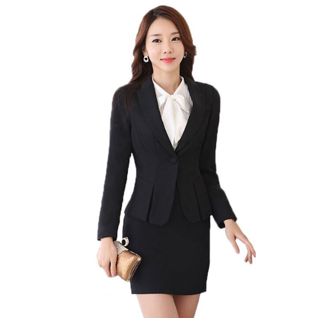2018 Spring Autumn Office Business Professional Wear Women S Suit