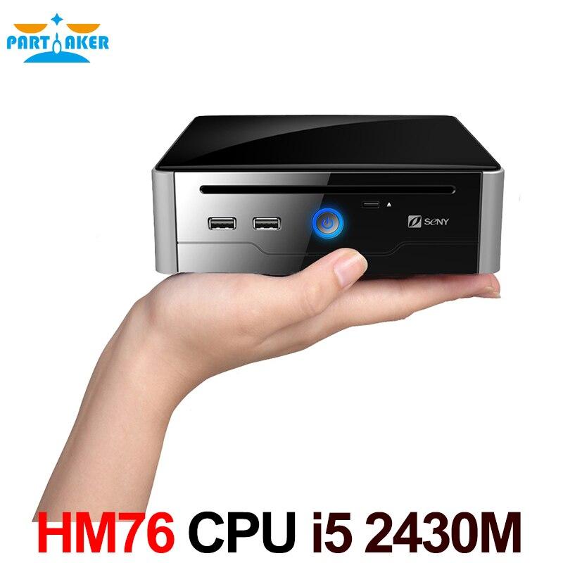 Sandy bridge intel core i5 2430 m 2.4 ghz mini ordenador con dvi hdmi com usb 3.