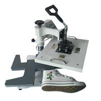 Digital Shoe Heat Press Machine , Shoes Sublimation Heat Transfer Machines shoes logo printer