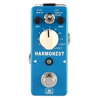 Aroma Ahar 5 Harmonist Pitch Shifter Guitar Effect Pedal 3 Modes Pitch Shifting Harmony Effects Aluminum Alloy Body True Bypas