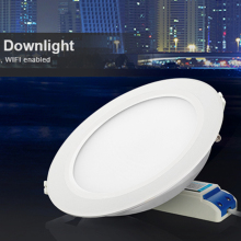 Milight FUT066 AC86-265V 12W RGB+CCT LED downlight Dimmable 2.4G Wireles Smart Led Lamp Lighting
