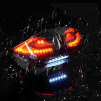 waterproof Motorcycle Turn Signals Light 12V 25W Motorcycles Flashing Indicator MOTO Tail Stop Signal Lamp For Yamaha BWS125