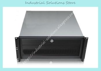 NEW Aluminum panel ultra-short 4u computer case 4u server full open door 1.0mm 480mm quality