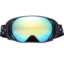 BE NICE outdoor ski goggles snowboards high coverage cylindrical snow glasses snowboard goggles anti fog for adlut 3200