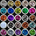 10g(2000pcs) 4mm Center Hole Sequins Slide Flat Round PVC Loose Sequin Paillettes DIY Sewing Wedding Craft 160 Colors Available
