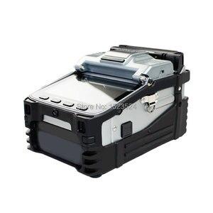 Image 4 - SM & MM multi langue automatique Six moteurs Intelligent FTTH Machine dépissage de fibers optiques épisseuse de Fusion de fibers optiques