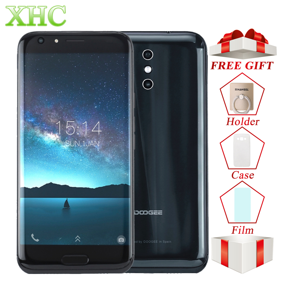 5,5 pulgadas DOOGEE BL5000 LTE teléfonos móviles 5050 mAh 8MP + 13MP cámaras MTK6750T Octa Core 4 GB + 64 GB Android 7,0 OTG Dual SIM Smartphone