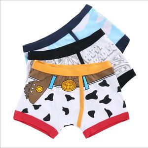 Image 2 - Verão 2017 Meninos Cueca Crianças Underwears Algodão de Alta Qualidade Shorts Calcinhas Para Meninos Boxer Adolescente 90 175cm 3 pçs/lote