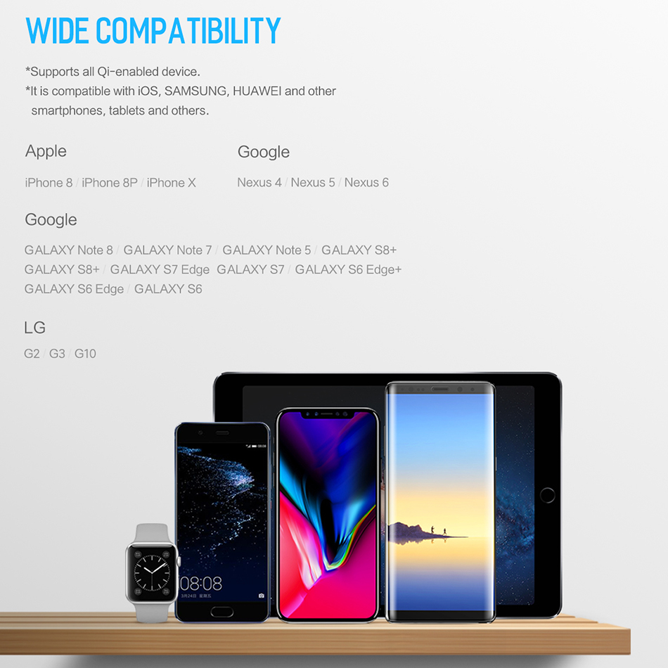 Portable Wireless Charging PowerBank