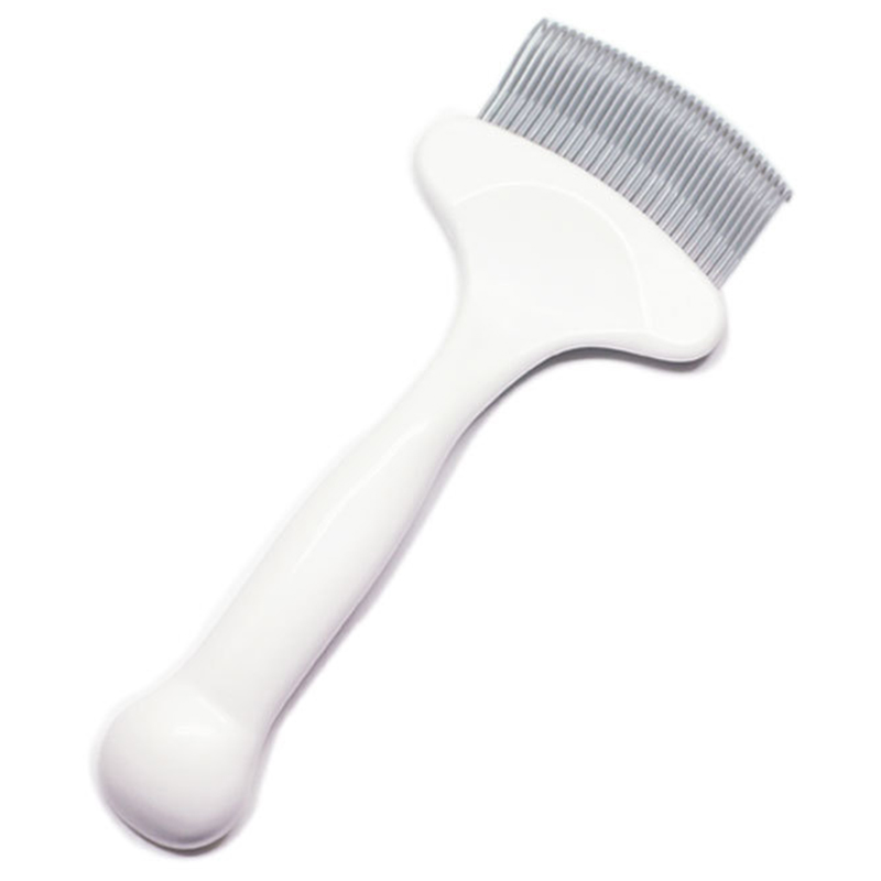 1x stainless steel comb hair brush shedding flea for cat dog trimmergrooming YL