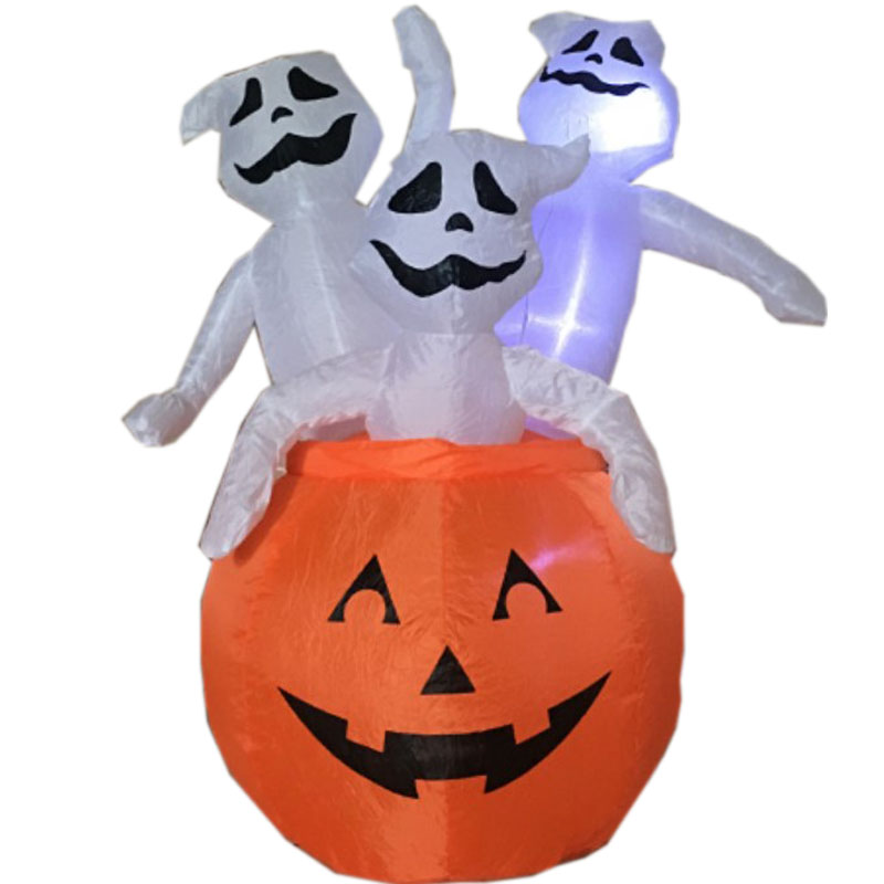 pumpkin decorations, inflatable halloween decoration, festival decoration, halloween product, pumpkin ghost