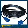 "Superbat Hembra Fakra Gato derecho a Fakra Jack RG174 de la coleta recta ""C"" GPS Antena de cable de extensión 6 M"