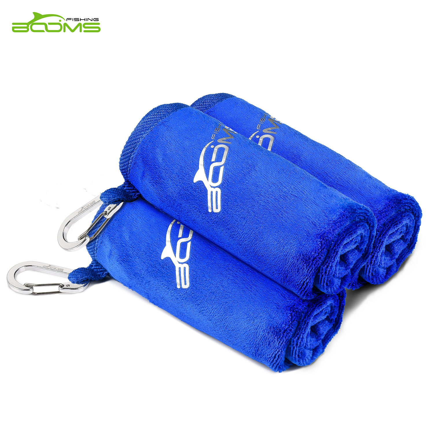 Booms Fishing Microfiber Bait Towel Fishing Towel Blue and Brown Two Color AvailiableBooms Fishing Microfiber Bait Towel Fishing Towel Blue and Brown Two Color Availiable