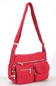 Image 2 - TEGAOTE Bolso de hombro de nailon con cremallera para mujer, bandolera para playa, de verano