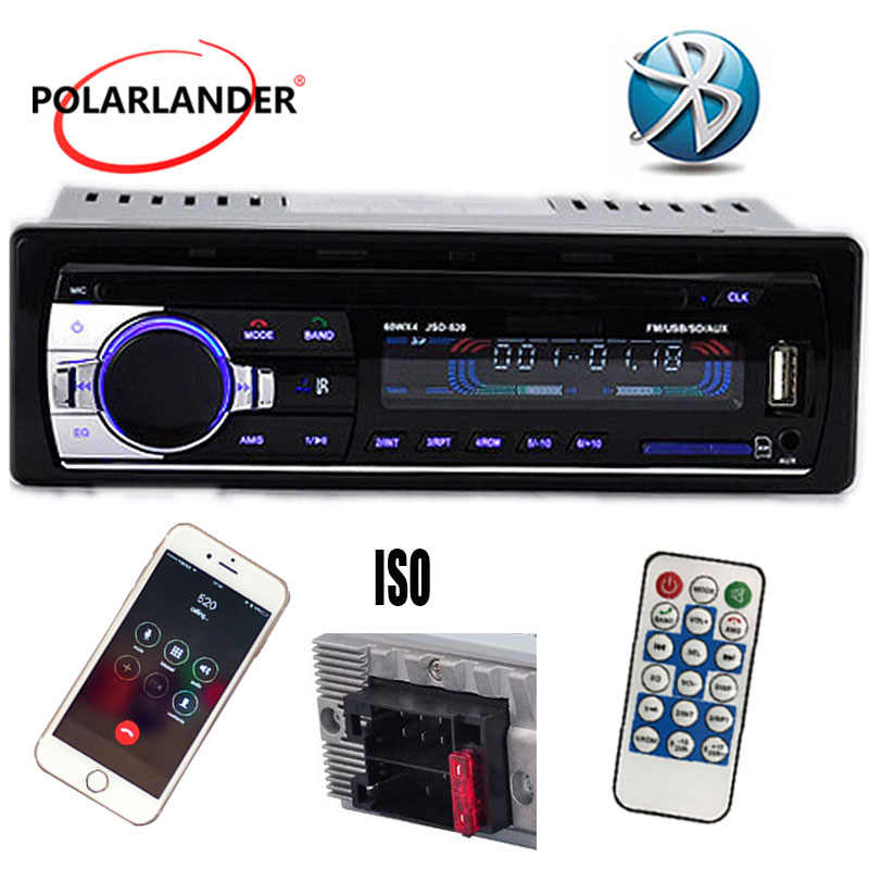 Novo 12v rádio do carro bluetooth carro mp3 player de áudio construído no telefone de bluetooth com usb sd mmc porto rádio do carro bluetooth in-dash 1 din