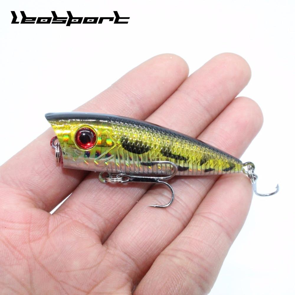 New Arrival 1pcs 7g 6.8cm Mini Popper Fishing Lures 3D Eyes Bait Crankbait Wobblers Tackle Isca Poper Japan artificial hard bait