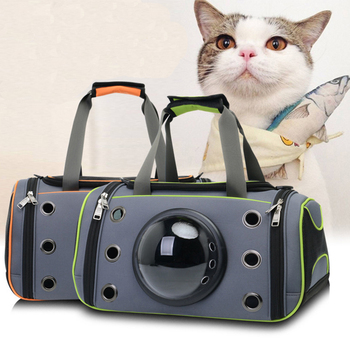 ERPPET Pet Dog Space Capsule Handbag Puppy Cat Outdoor Travel Shopping Carrier Crate Fashion Breathable Comfortable Pet Bags