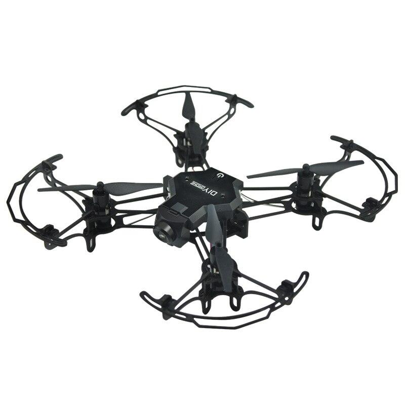 Diy Mini Drone Met/Zonder HD Camera Hoge Hold Modus RC Quadcopter RTF WiFi FPV Opvouwbare RC Drone - 3