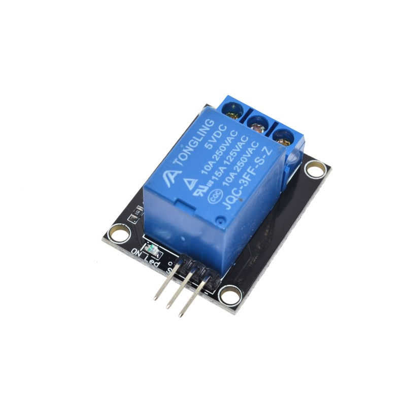 Free shipping 1 Channel 5V Relay Module for arduino 1-Channel relay KY-019 For PIC AVR DSP ARM for Arduino