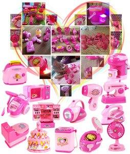 Image 5 - Bambini mini Educativi Cucina giocattolo Rosa Elettrodomestici Giochi Per Bambini Da Cucina Per I Bambini Le Ragazze Regalo Giocattolo Dropshipping