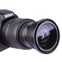 0 35x 52mm Super Fisheye Wide Angle Lens For 52 MM Nikon D7000 D7100 D5200 D5100
