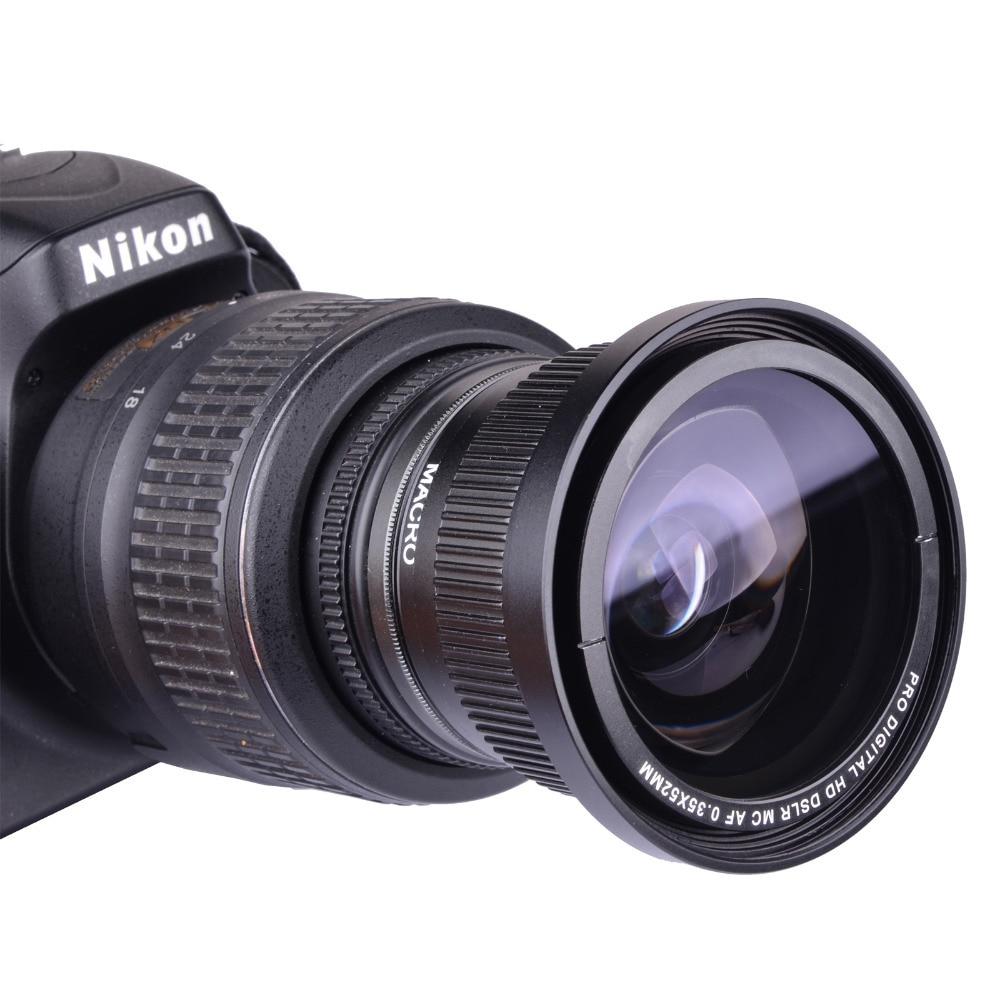 Camera Nikon D40 Dslr Camera Price popular lens nikon d40 buy cheap lots from china 0 35x 52mm super fisheye wide angle for 52 mm d7000 d7100 d5200 d5100