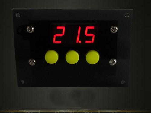 Mini Controlador de Temperatura-50 ~ 110 Grados Celsius Termostato Digital de DC/AC 12 V Temperatura Diferencia Fresco/Conmutación coche de calor