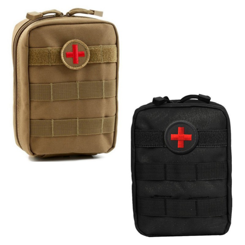 Medical Outdoor Hunting Sports Molle Tactical Military 900D EDC Utility Bag First Aid Pouch Case Tools