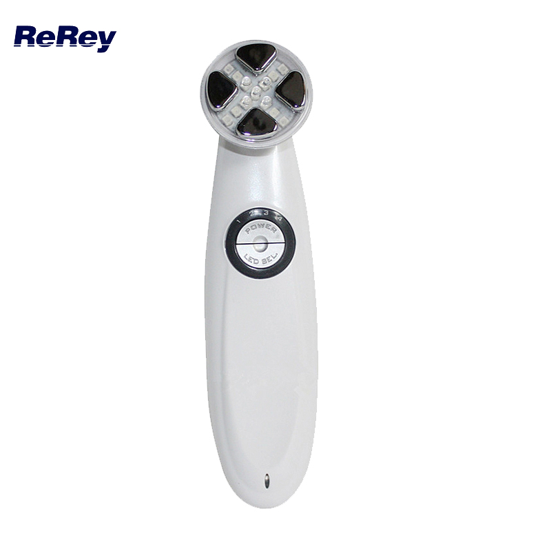 Mesotherapy Electroporation RF Skin Care Machine LED Photon Rejuvenation Radio Frequency Lifting Facial Massager Lifting Device kingdom kd 9900 ems rf electroporation beauty device