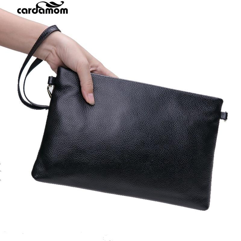 Cardamom Genuine Leather Women Shoulder Bag Fashion Satchel Casual Bolsas Femininas Real Leather Clutch Cowhide Messenger Bags стоимость