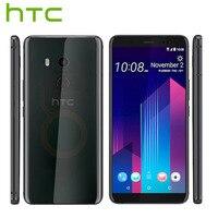 HK Version HTC U11 Plus U11+ 4G LTE Mobile Phone 6GB RAM 128GB ROM 2160P Octa Core 6.0inch IP68 1440x2880P Android 8.0 Callphone