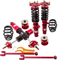 Coilover Suspension For BMW E46 3 Series 98-06 Adjustable Height Coilovers Struts with control arm swing bar