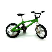 Mini Finger Bmx Játékok Mini Kerékpár Mountain Bike Ujj Scooter Fan Interest Játékok Gyűjtemények Decor Fék nélkül Zöld
