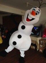 olaf Mascot Costume for Adult elsa Costumes snowman mascot Free Shipping