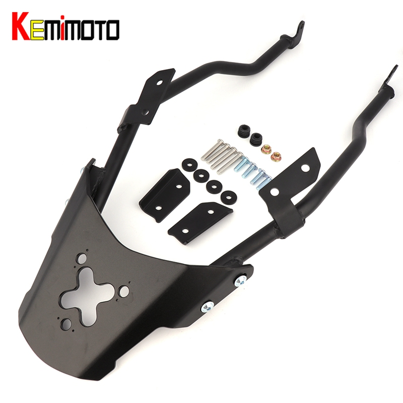 KEMiMOTO For YAMAHA MT-03 MT-25 MT03 MT25 MT 03 25 2016 2017 Motorcycle Accessories Rear Carrier Luggage Rack for yamaha mt25 mt03 mt 25 mt 03 2015 2016 balance shock front fork brace motorcycle accessories cnc aluminum
