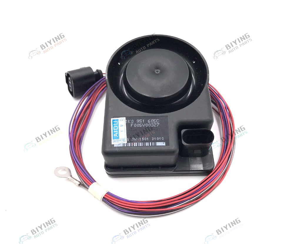 Car Security Alarm Siren Speaker Horn FOR VW Jetta Golf MK5 MK6 Passat B6 Touareg koda Octavia SUPERB YETI SEAT 1K0 951 605 C in Multi tone Claxon Horns from Automobiles Motorcycles