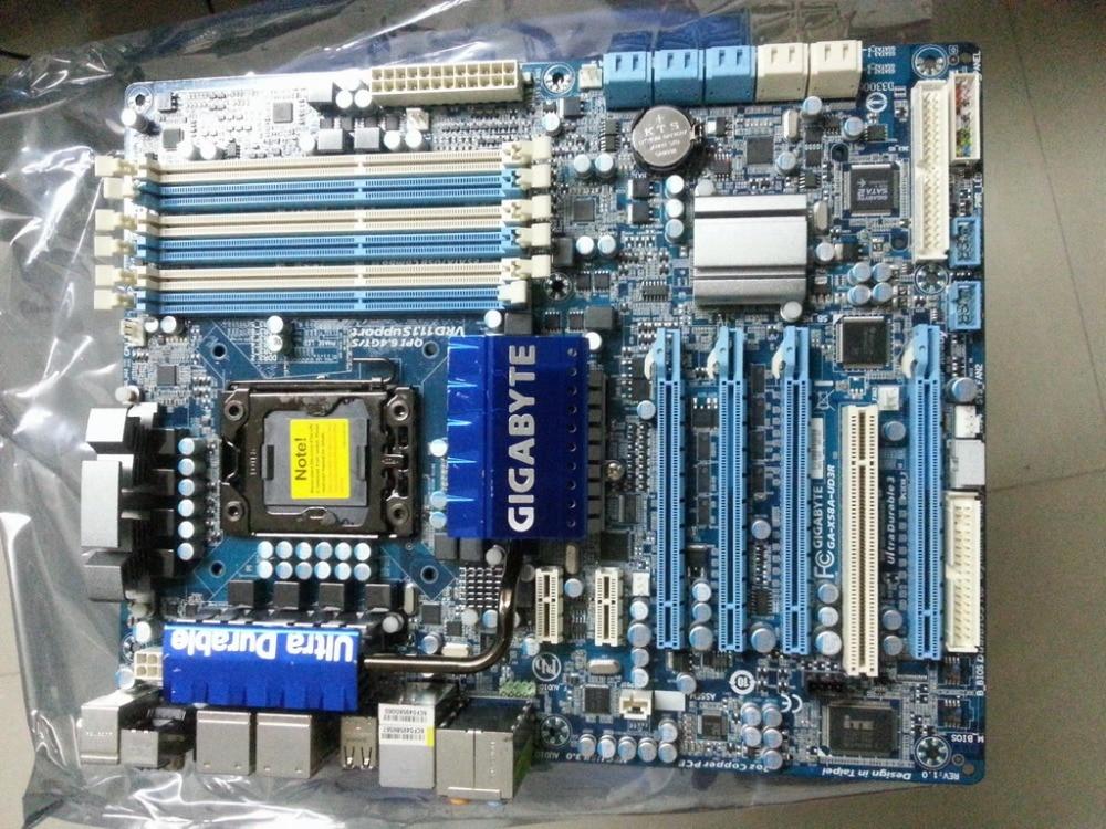 Scheda madre originale per Gigabyte GA-X58A-UD3R LGA 1366 DDR3 24 GB USB2.0 USB3.0 X58A-UD3R X58 scheda madre Desktop di trasporto liberoScheda madre originale per Gigabyte GA-X58A-UD3R LGA 1366 DDR3 24 GB USB2.0 USB3.0 X58A-UD3R X58 scheda madre Desktop di trasporto libero