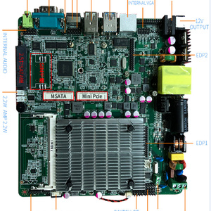 Image 2 - Main Board Lage Kosten Intel Celeron J1900 Processor Itx Industriële Moederbord 3 * Usb Voor Automaat