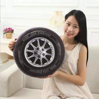 40 cm al por mayor juguetes de peluche. la nueva muñeca creativa. la simulación de los neumáticos del automóvil. almohada muñeca novia regalos para los niños